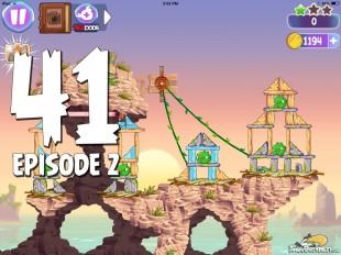 Angry Birds Stella Level 41 Episode 2 Walkthrough