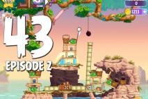 Angry Birds Stella Level 43 Episode 2 Walkthrough