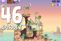 Angry Birds Stella Level 46 Episode 2 Walkthrough