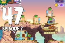 Angry Birds Stella Level 47 Episode 2 Walkthrough