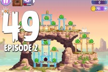 Angry Birds Stella Level 49 Episode 2 Walkthrough