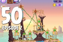 Angry Birds Stella Level 50 Episode 2 Walkthrough