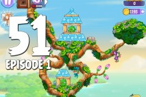 Angry Birds Stella Level 51 Episode 1 Walkthrough
