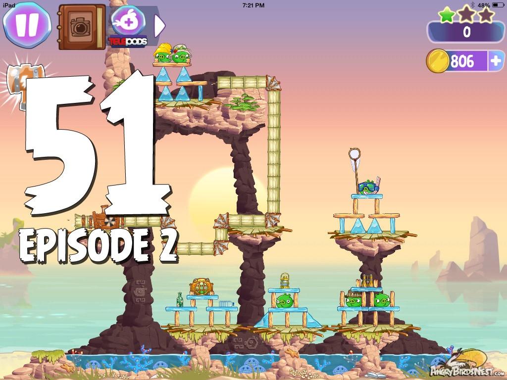 Angry birds stella episode 2 level 51 celebrity