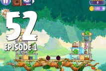 Angry Birds Stella Level 52 Episode 1 Walkthrough