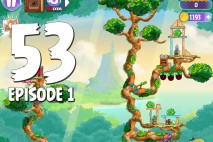 Angry Birds Stella Level 53 Episode 1 Walkthrough