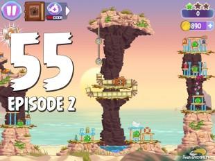 Angry Birds Stella Level 55 Episode 2 Walkthrough