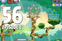 Angry Birds Stella Level 56 Episode 1 Walkthrough