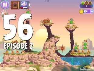 Angry Birds Stella Level 56 Episode 2 Walkthrough