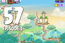 Angry Birds Stella Level 57 Episode 1 Walkthrough