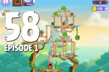Angry Birds Stella Level 58 Episode 1 Walkthrough