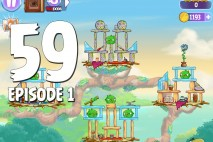 Angry Birds Stella Level 59 Episode 1 Walkthrough