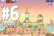 Angry Birds Stella Level 6 Episode 2 Walkthrough