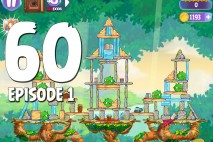 Angry Birds Stella Level 60 Episode 1 Walkthrough