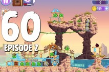 Angry Birds Stella Level 60 Episode 2 Walkthrough