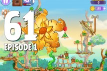 Angry Birds Stella Level 61 Giant Gold Flower Episode 1 Walkthrough