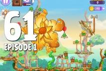 Angry Birds Stella Level 61 Giant Gold Flower Episode 1 Walkthrough