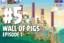 Angry Birds Stella Wall Of Pigs #5 Episode 1 Walkthrough