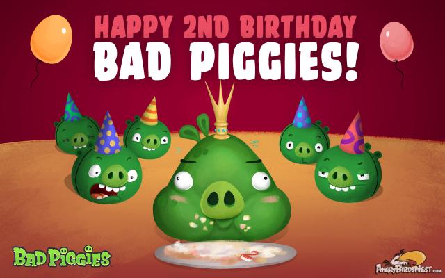 Bad Piggies 2nd Birthday