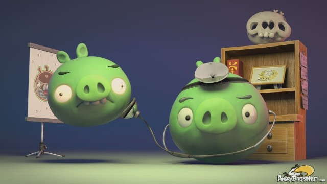 Dr Pork and the UFO