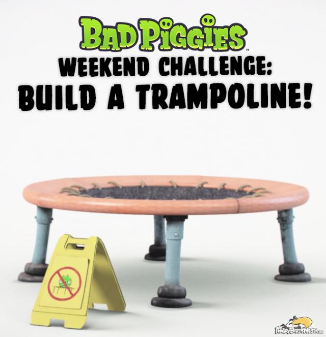 Bad Piggies Weekend Challenge