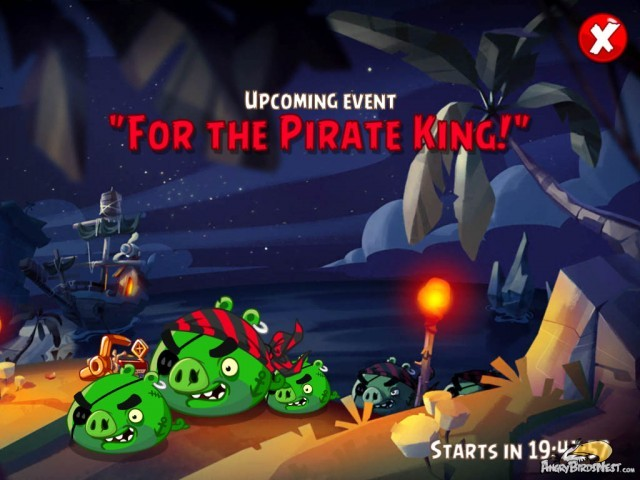 Angry Birds Epic v110 Upcoming Event for the Pirate King
