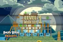 Angry Birds Friends Halloween Tournament Level 1 Week 127 Walkthrough   October 20th 2014