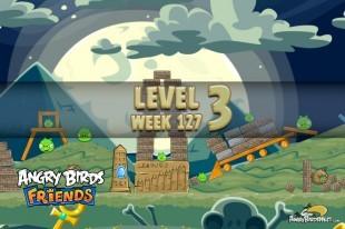 Angry Birds Friends Halloween Tournament Level 3 Week 127 Walkthrough   October 20th 2014