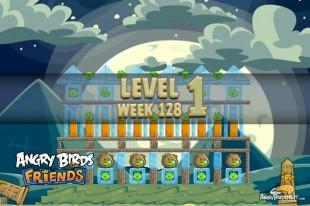 Angry Birds Friends Halloween Tournament Level 1 Week 128 Walkthrough | October 27th 2014