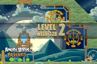 Angry Birds Friends Halloween Tournament Level 2 Week 128 Walkthrough | October 27th 2014
