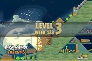 Angry Birds Friends Halloween Tournament Level 3 Week 128 Walkthrough | October 27th 2014