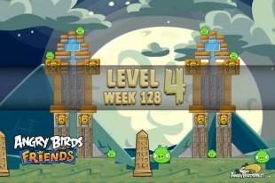 Angry Birds Friends Halloween Tournament Level 4 Week 128 Walkthrough | October 27th 2014