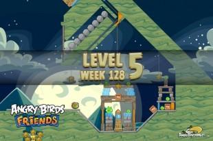 Angry Birds Friends Halloween Tournament Level 5 Week 128 Walkthrough | October 27th 2014