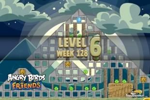 Angry Birds Friends Halloween Tournament Level 6 Week 128 Walkthrough | October 27th 2014