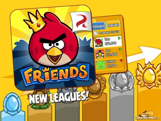 Angry Birds Friends Leagues Tournament Featured Image