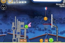 Angry Birds Seasons HAM Dunk Level 1-1 Walkthrough