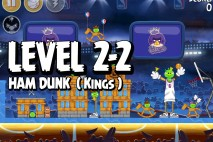 Mighty Eagle Walkthrough Ham Dunk Level 2-2