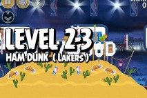 Mighty Eagle Walkthrough Ham Dunk Level 2-3