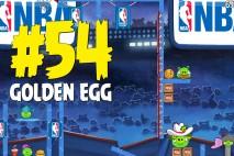 Angry Birds Seasons Ham Dunk Golden Egg #54 Walkthrough