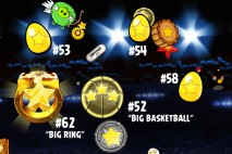 Angry Birds Seasons Ham Dunk Golden Eggs Walkthroughs