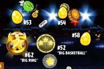 Angry Birds Seasons Ham Dunk Golden Eggs Walkthroughs