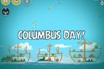 Angry Birds Seasons The Pig Days Level 1-15 Walkthrough | Columbus Day