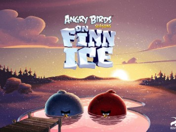 Angry Birds Seasons on Finn Ice Myster Update