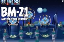 Angry Birds Star Wars 2 Master Your Destiny Level BM-21 Walkthrough
