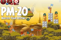 Angry Birds Star Wars 2 Master Your Destiny Level PM-20 Walkthrough