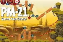 Angry Birds Star Wars 2 Master Your Destiny Level PM-21 Walkthrough