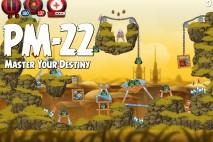 Angry Birds Star Wars 2 Master Your Destiny Level PM-22 Walkthrough