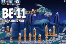 Angry Birds Star Wars 2 Rebels Level BE-11 Walkthrough