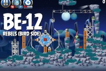Angry Birds Star Wars 2 Rebels Level BE-12 Walkthrough