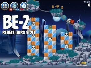 Angry Birds Star Wars 2 Rebels Level BE-2 Walkthrough